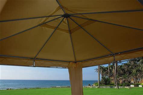 beige gazebo canopy