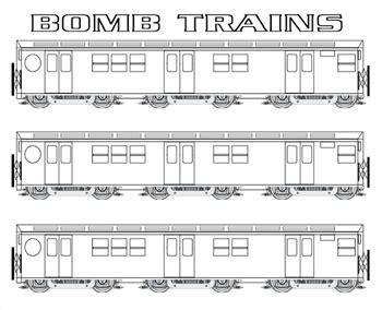 graffiti train template