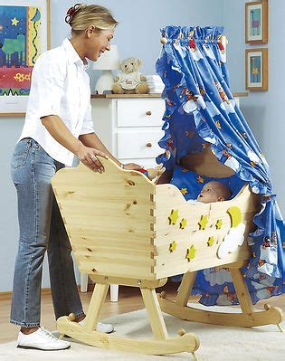 baby wiege holz kinderwiege selber bauen wiege neugeborene und richtiger
