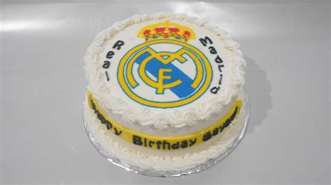 Real Madrid Cake Topper Easy