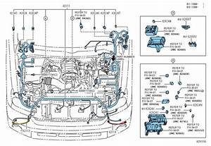 Toyota Tundra Wire  Engine Room Main  Wiring  Wiring
