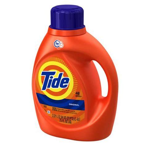 high efficiency laundry detergent tide high efficiency turbo clean original scent liquid laundry detergent walmart canada