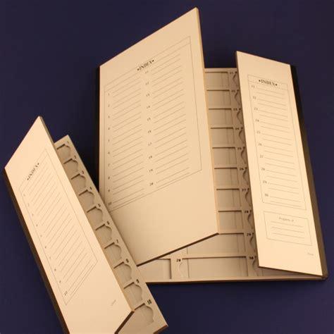 Brain Research Laboratories Cardboard Slide Folder 10