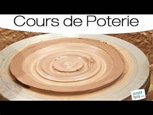comment faire une assiette en poterie youtube With faire de la poterie a la maison