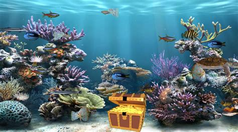 Animated Fish Tank Wallpaper Free - fish tank moving desktop backgrounds animated aquarium