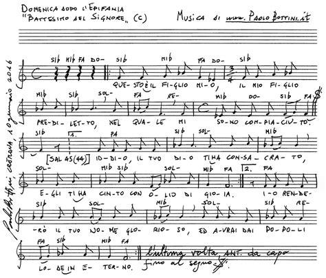 Canti D Ingresso Messa Canti Per La Messa Domenica Dopo L Epifania Battesimo