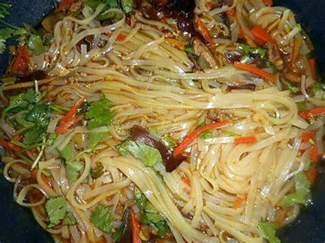 cuisiner nouilles chinoises comment cuisiner nouille de riz