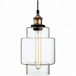 Firstlight, Retro, Vintage, Style, Edison, Tall, Glass, Ceiling, Pendant, Light