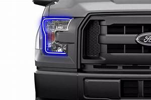 1977 Ford F150 Led Lights Ford F150 W O Oem Led 15 17 Profile Fitted Halos Rgb
