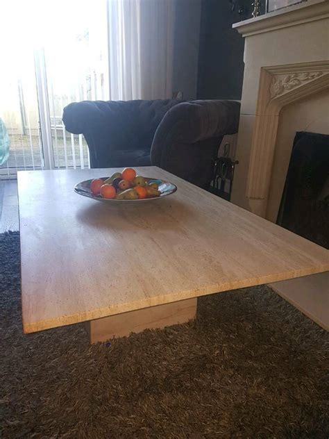 large stone marble coffee table  newcastle tyne