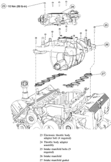 Ford Ranger 4 0 Engine Exploded Diagram by 2003 Ford Mustang Gt 4 6l Sfi Sohc 8cyl Repair Guides