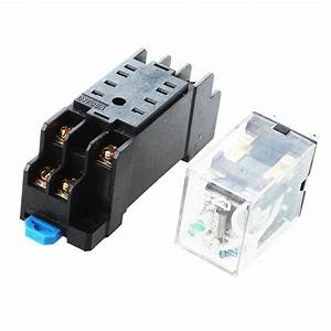 Dc 12v Coil 8 Pin General Purpose Relay Dpdt Hh52p W