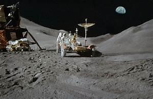 Apollo 15 Moon Landing | My widescreen composite of three ...