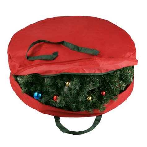 durable canvas holiday christmas wreath protection storage