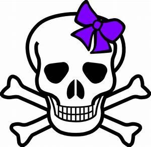 Cute Skeleton Skull Clipart