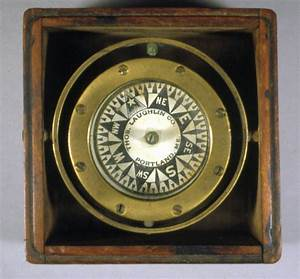 Dry Card Box Compass for Small Boat Penobscot Bay