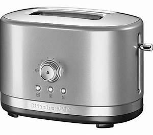 Kitchen Aid Toaster : buy kitchenaid 5kmt2116bcu 2 slice toaster silver free delivery currys ~ Yasmunasinghe.com Haus und Dekorationen