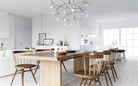 nordic decor atdesign wooden dining nordic style interior design ideas