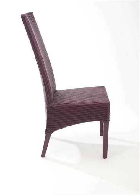 chaise loom chaise haut dossier en loom brin d 39 ouest