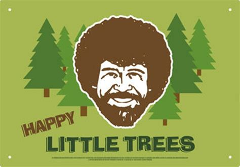 Bob Ross The Joy Of Painting Happy Little Trees Art Image