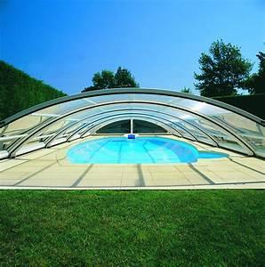 Abri Haut Piscine : les abris mi haut de piscine desjoyaux lattes ~ Premium-room.com Idées de Décoration
