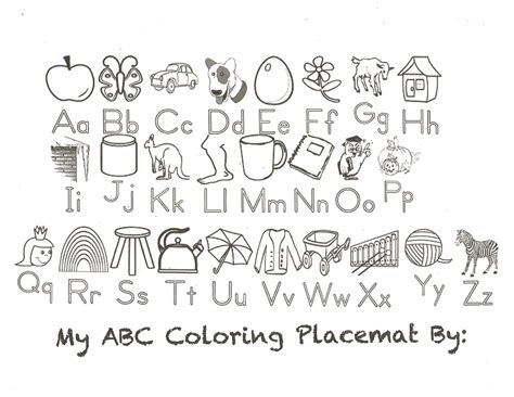 Free Printable Alphabet Coloring Pages A-z