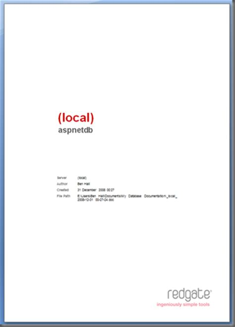 What To Put On A Cover Page For A Resume by Sql Doc 2 0 Customizing The Word Cover Page Ben S