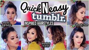 3 Quick N' Easy Tumblr Inspired Hairstyles ...