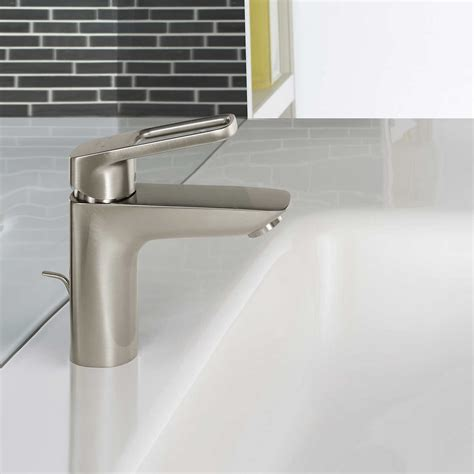 Shower Fixtures - hansgrohe logis loop single bathroom faucet brushed
