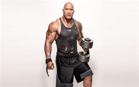 fast and furious wallpaper wallpaper dwayne johnson the rock weights workout 4k