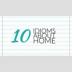 Idioms Archives  Writers Write