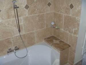 deco salle de bain travertin amazing home ideas With salle de bain design avec vasque en travertin