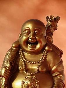 Buddha Sprüche Bilder : bild lachender buddha ~ Orissabook.com Haus und Dekorationen