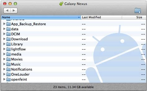 android filetransfer android files transfer for mac os x