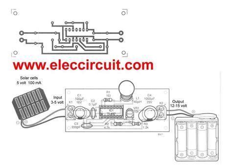 Make Solar Battery Charger Circuit