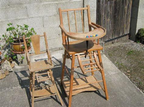 ancienne chaise haute en bois chaise ancienne offres mai clasf