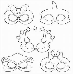 5 Blank Mask Templates Printable