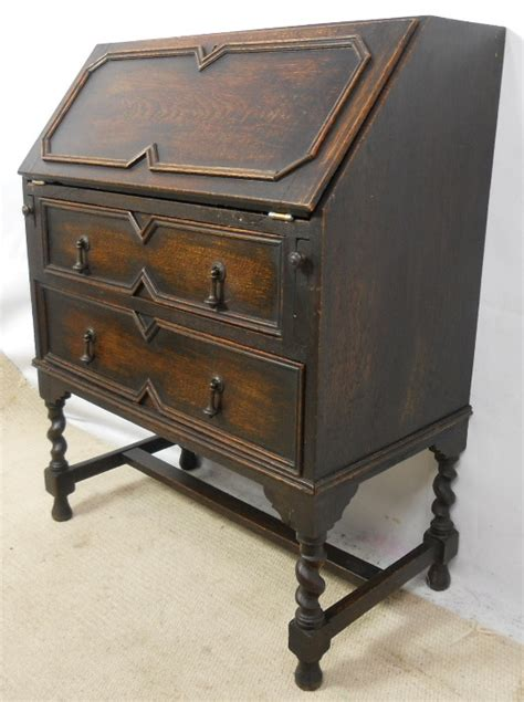 oak writing bureau furniture oak writing bureau