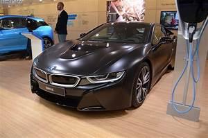 2017 Bmw I8 : bmw i8 protonic frozen black made its debut in geneva i new cars ~ Medecine-chirurgie-esthetiques.com Avis de Voitures