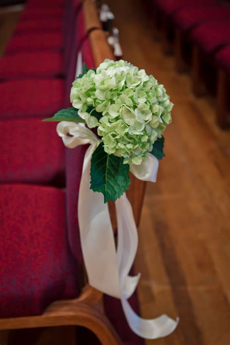 chair  pew decorations