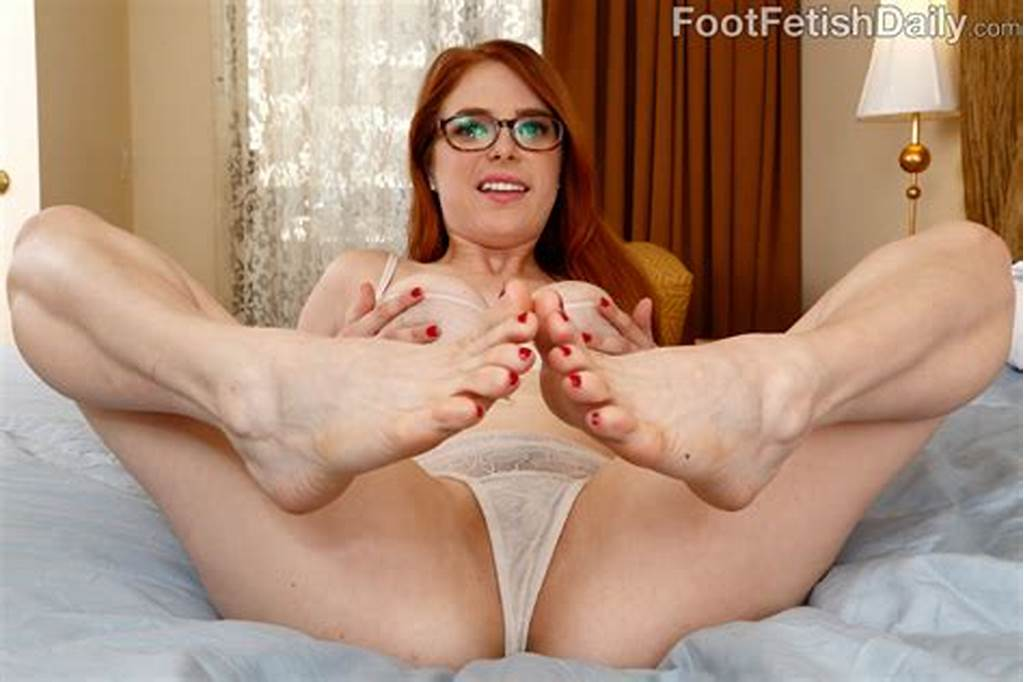 #Hot #Redhead #Wraps #Her #Sexy #Feet #Around #A #Black #Cock #61108