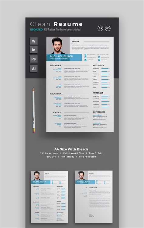 Modern Resume Design by 20 Modern Resume Templates With Clean Cv Designs