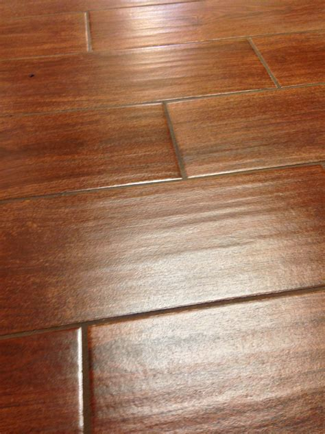 Wood Plank Porcelain Tile With Brown Color Ideas