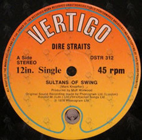 Dire Straits Swing Sultans by Dire Straits Sultans Of Swing 12 Inch Lp Vinyl