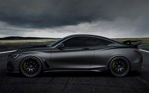 2017 Infiniti Q60 Project Black S Concept - Wallpapers and