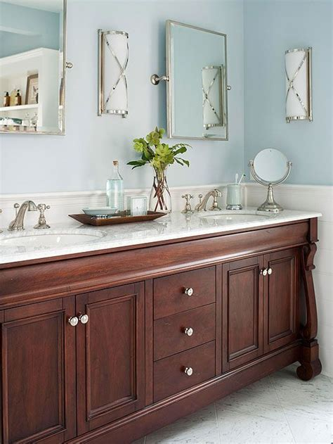 Bathroom Colors With White Cabinets by Stylish Bathroom Color Schemes Walnut Cabinets Blue