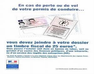 Déclaration De Perte Du Permis De Conduire : a partir du 01 09 2014 le duplicata de permis de conduire est payant en cas de perte ou de vol ~ Medecine-chirurgie-esthetiques.com Avis de Voitures