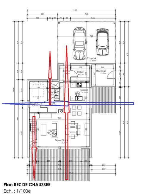 plan maison plain pied 120m2 4 chambres dessiner des plans fonctionnels conseils thermiques
