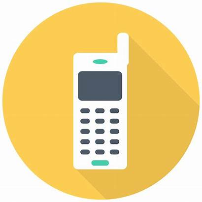 Icon Telephone Mobile Vector Call Iphone Phone