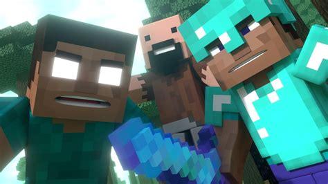 annoying villagers  trailer minecraft animation youtube
